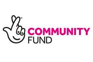 Image shows lottery community fund logo