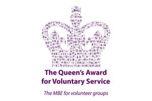 Image shows The Queen's Award for Voluntary Service