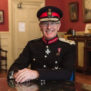Image shows Sir Peter Field, Patron of East Sussex Vision Support